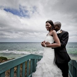Theo and Inonge's Colorful Wedding At The Beach