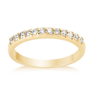 Vashi Yellow Gold Wedding Band