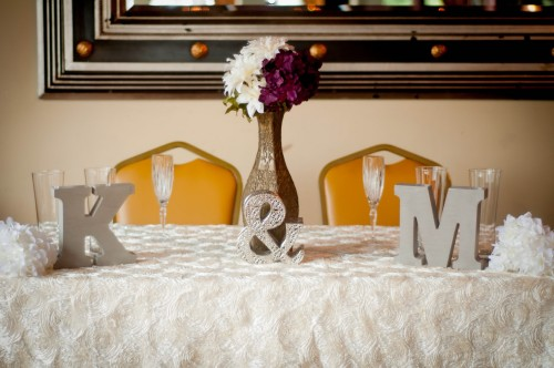 table setting wedding