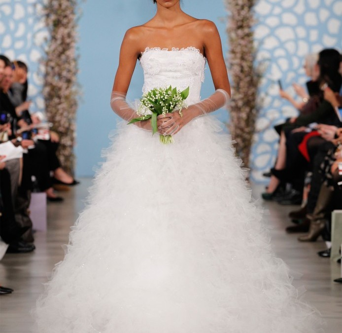Dress of the Week – Oscar De La Renta Bridal