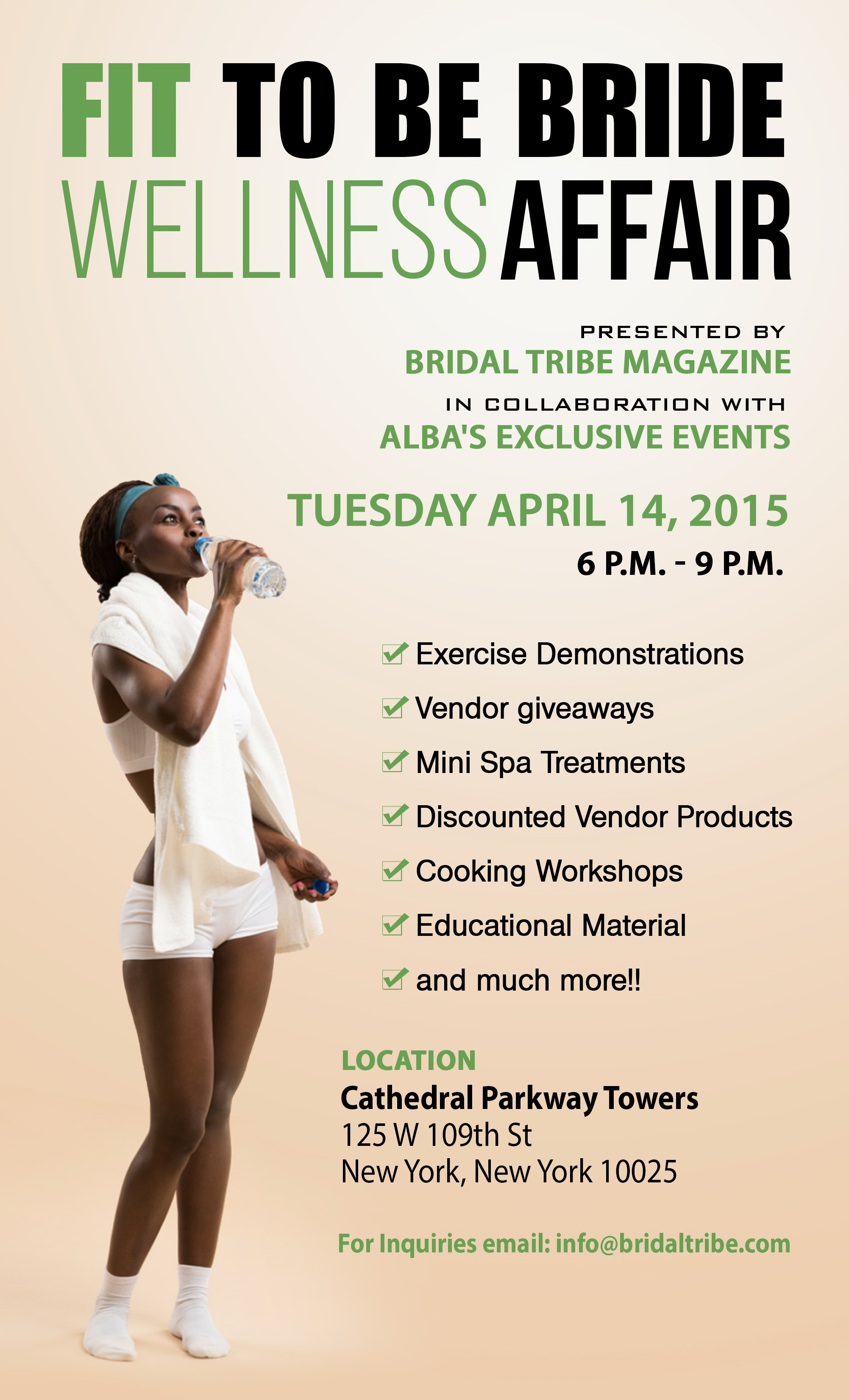 Bridal Tribe Presents: Fit To Be Bride Wellness Affair