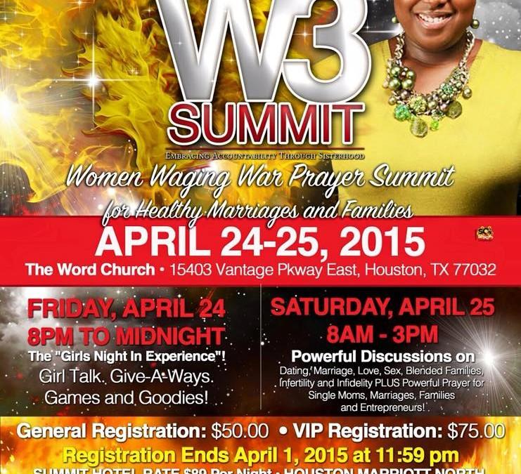 The Wifeability W3 Summit April 24-25