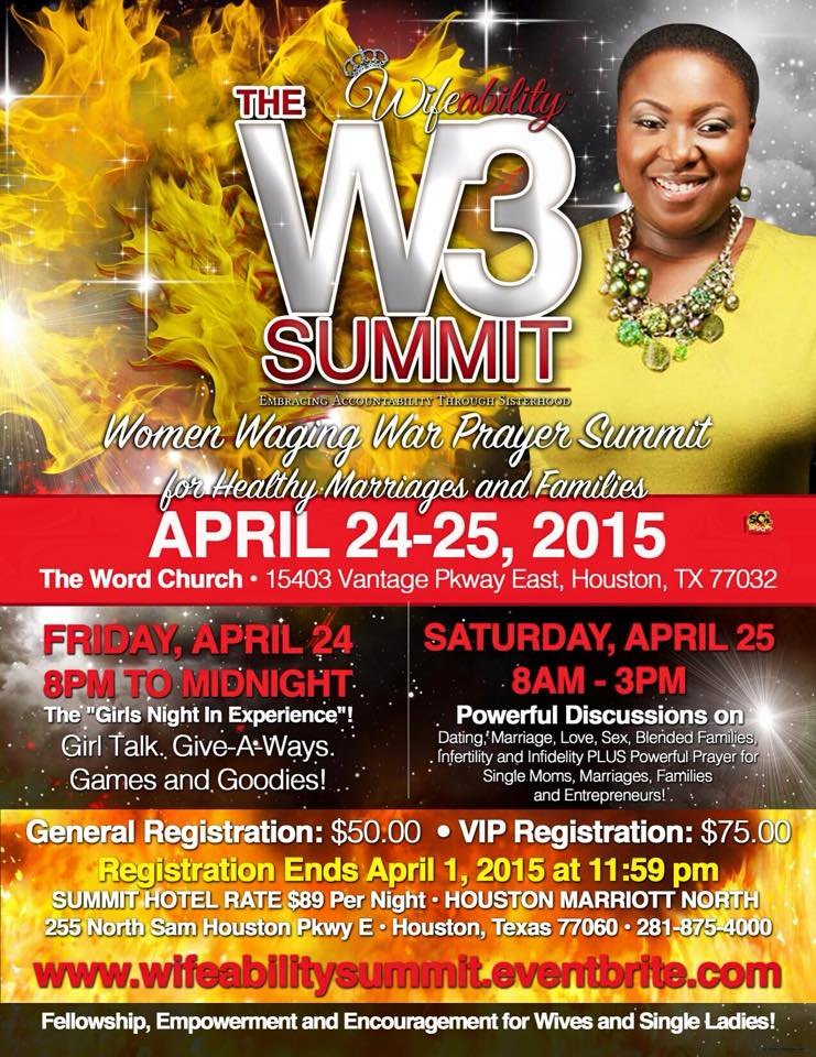 The Wifeability W3 Summit April 24-25