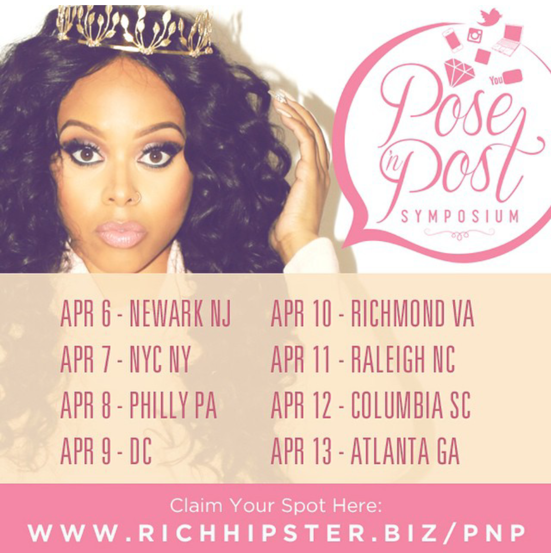 Pose and Post Symposium with Chrisette Michelle