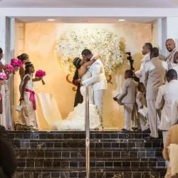 Chic Atlanta Platinum Wedding