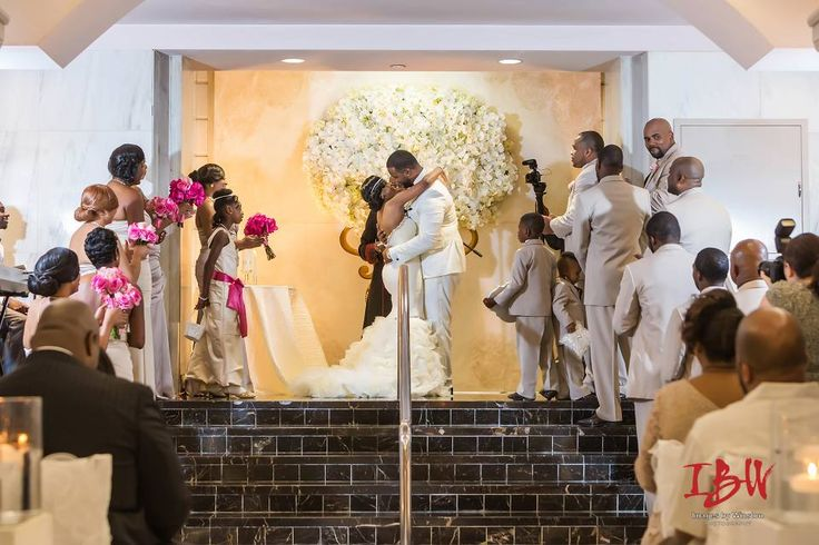 Chic Atlanta Platinum Wedding