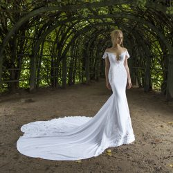 Nurit Hen at New York International Bridal Week