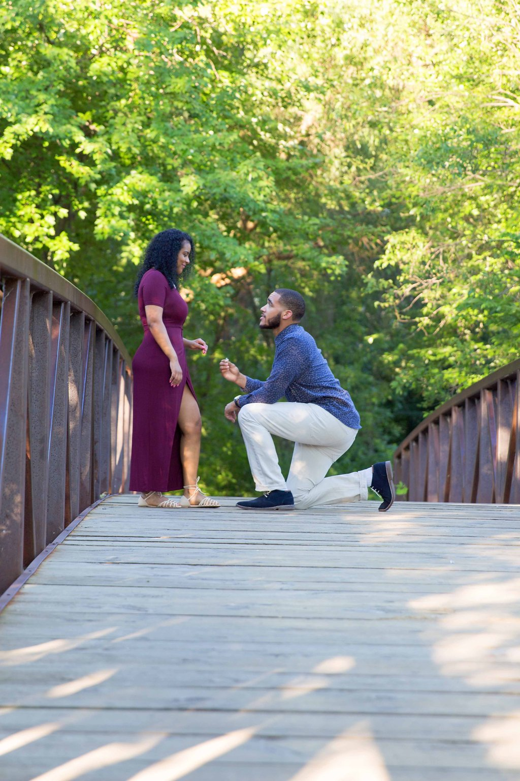 Lakeside Engagement Session in Minnesota- Nate and Fenet