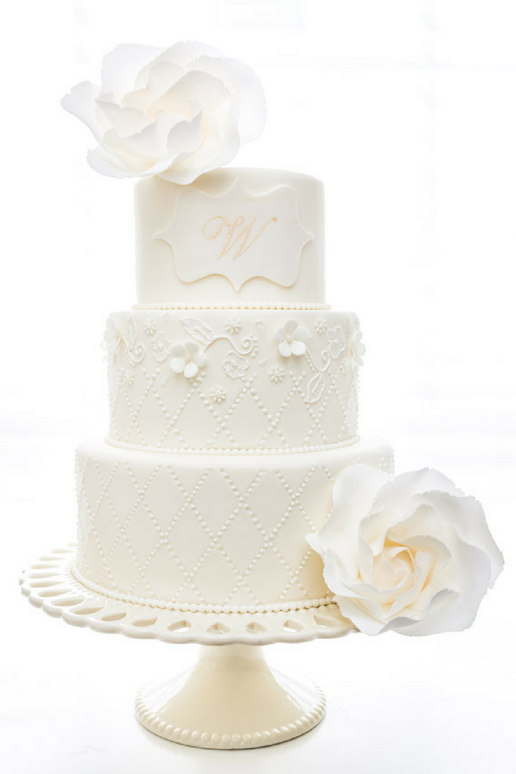 bridal tribe wedding cake sweet details floral