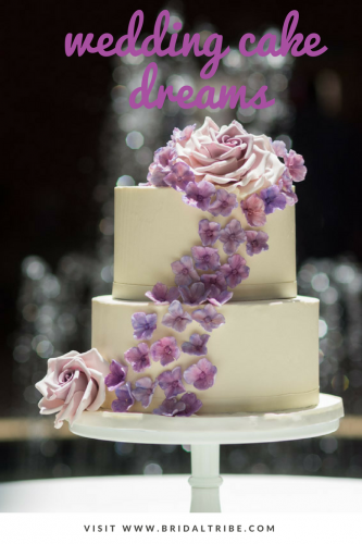 bridal tribe wedding cake sweet details