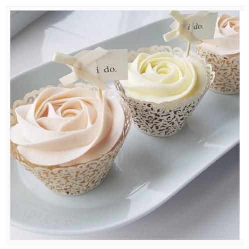 bridal tribe cupcakes